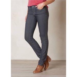 """Prana """"Kara"""" Gray Skinny Stretch Jeans"""
